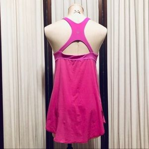 Lululemon Colorblock Cutout Back Tank Top